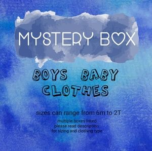 Other - Mystery Box - 6 items - boys button down shirts